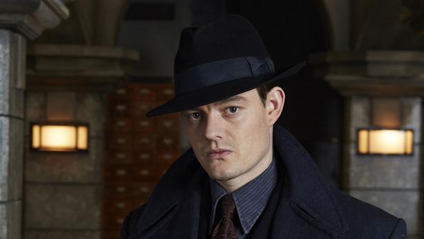 Sam Riley as Douglas Archer in BBC One's SS-GB