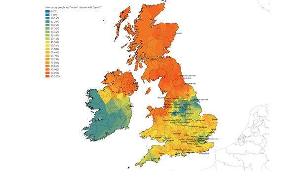 How do you say 'scone'? English regional accents decline as 'southern' accent becomes widespread