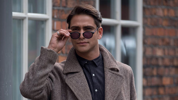 Snatch star Luke Pasqualino