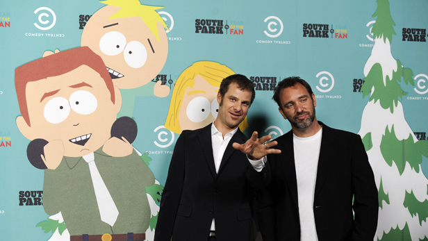 South Park creators Matt Stone and Trey Parker