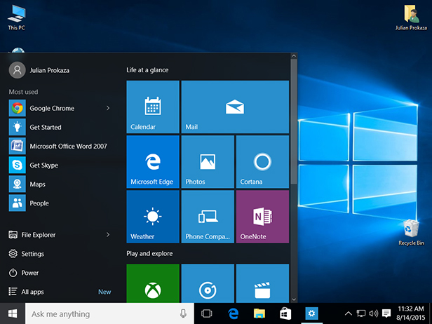 Tips and tricks for the Windows 10 start menu - BT