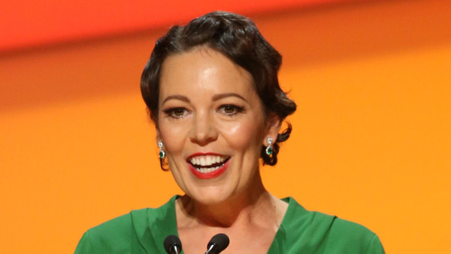 Olivia Colman will take over as Queen Elizabeth in The Crown