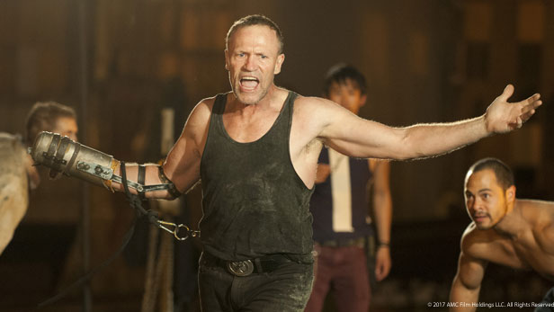 Merle Dixon in The Walking Dead played by Michael Rooker