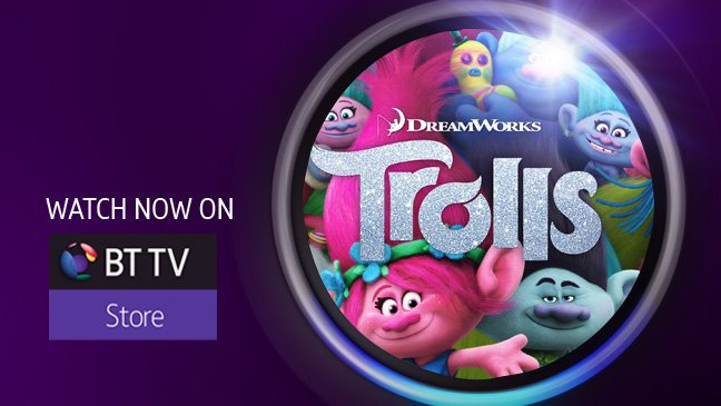 Trolls on BT TV Store