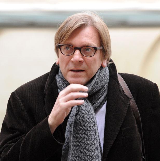 Guy Verhofstadt, former Belgian Prime Minister