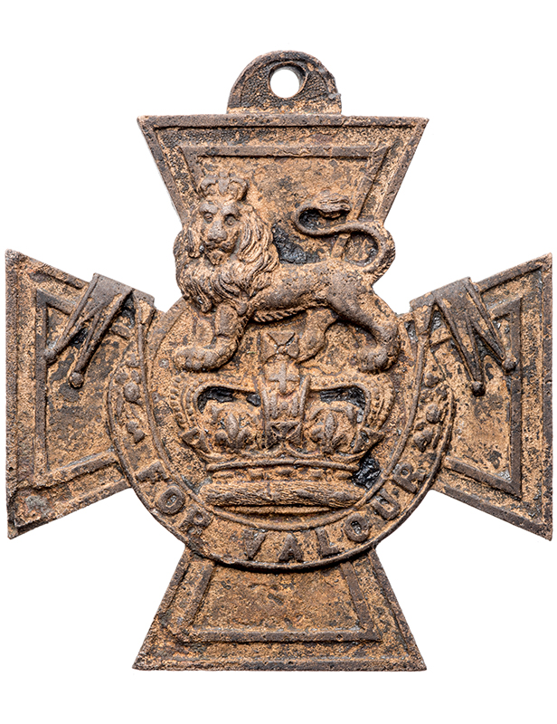 Mystery Victoria Cross found in River Thames mud refuses to give up its secrets