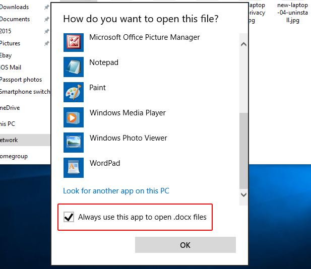 How to Fix: Windows 10 Keeps Asking: 'How do you want to open this