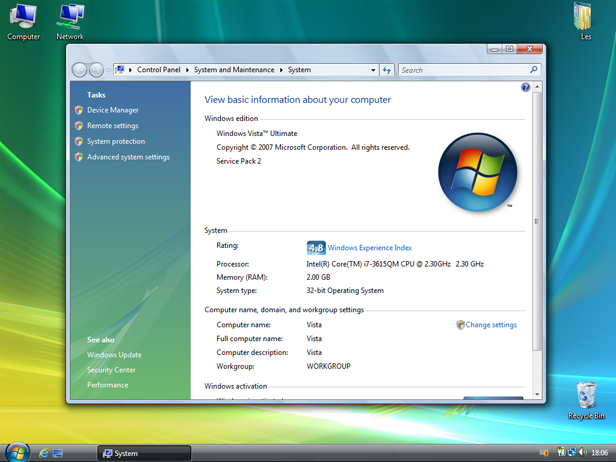 how many versions of windows vista are there