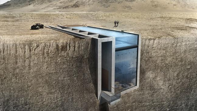'A house suitable for James Bond': Stunning 'lair' to be built