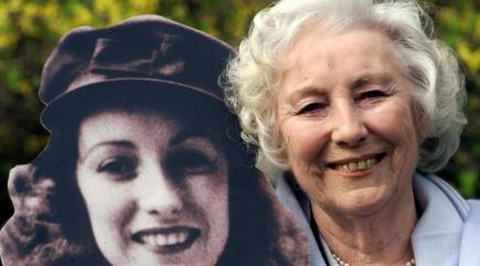 Dame Vera Lynn's centenary marked with Bluebirds over White Cliffs of Dover