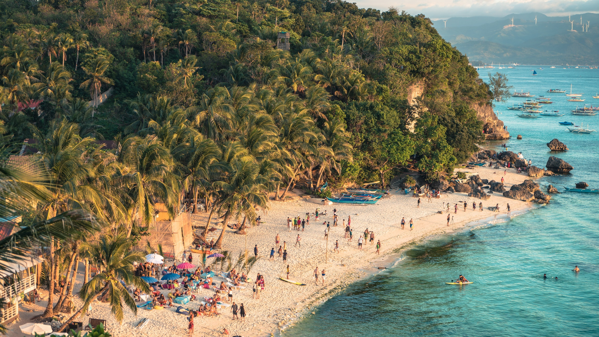 a look inside boracay island in the philippines before it is closed