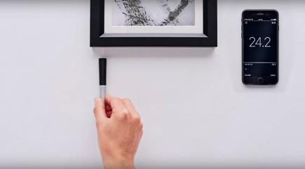 A new sensor-filled smart pen can measure any 3D object just by being rolled over it