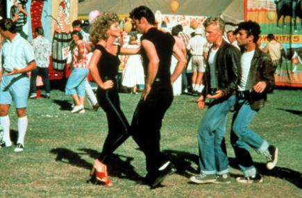 A still from Grease