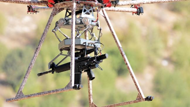 A US Start Up Has Built Gun Carrying Drone It Says Could Replace Soldiers