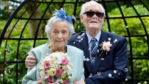 A whirlwind wedding for 89-year-olds
