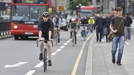 The AA is publishing a highway code for cyclists
