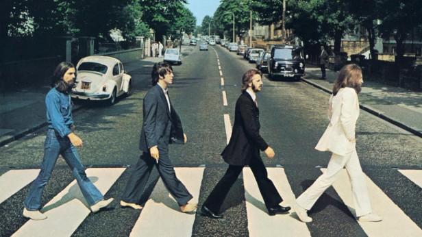 Apparent symbolism in the picture on the cover of the Beatles' Abbey Road fuelled rumours that McCartney had died three years earlier.
