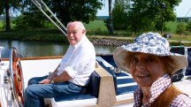 Actor Timothy West steers us through 5 of his favourite canal journeys in Europe
