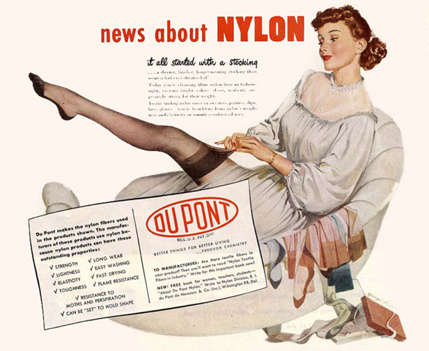 Image result for nylon in world war 2
