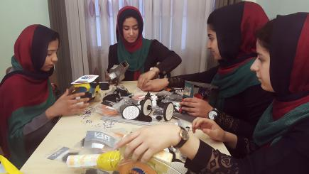 In Reversal, Afghan Girls Get US Visas To Attend Robotics Competition