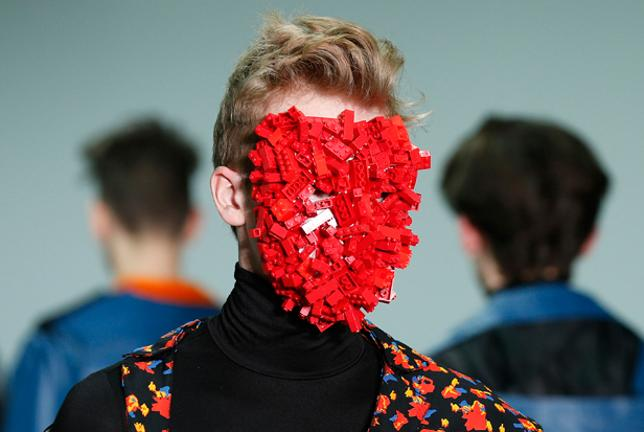 Carrier bag hats and Lego face masks – the strangest trends from ...
