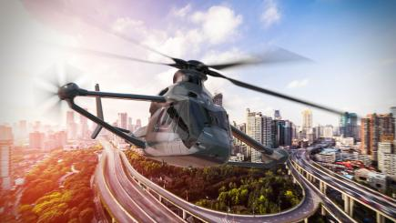 Airbus has unveiled a new high-speed helicopter