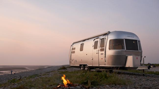 Airstream 684 Series 2 2.5 Airstream & 10 luxurious campervans motorhomes and glamping tents to rival ...