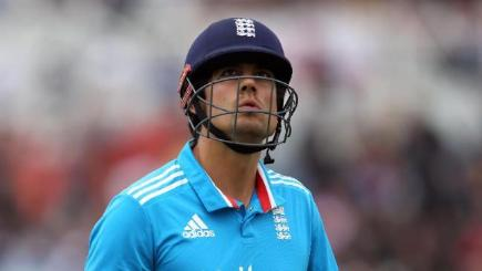 Alastair Cook, who has been replaced as England's ODI captain by Eoin Morgan.