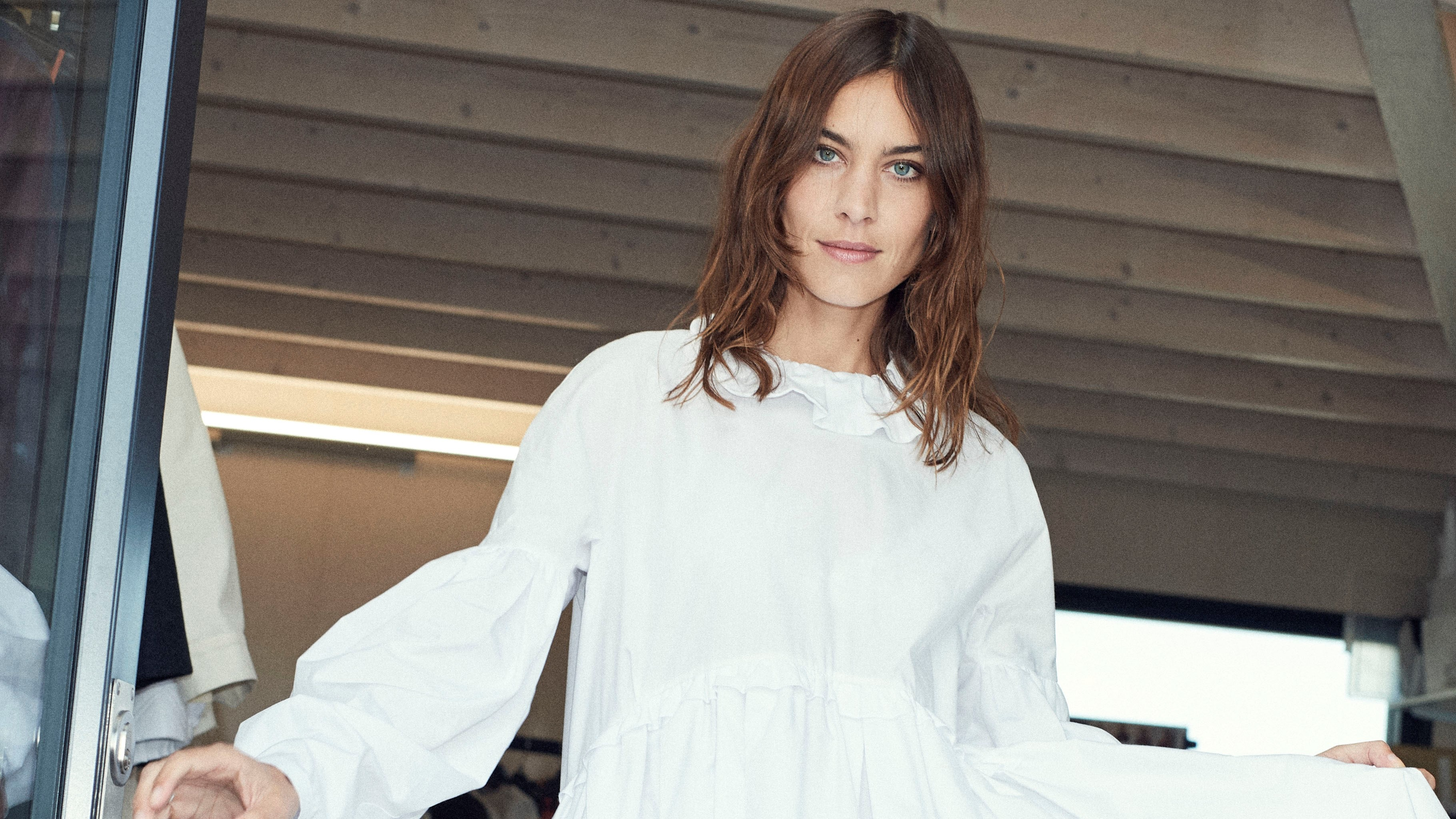 Alexa Chung My Daunting First London Fashion Week Show Bt