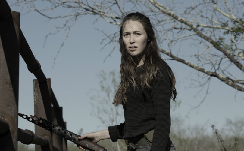 Alyica Debnam Carey as Alicia Clark in Fear the Walking Dead