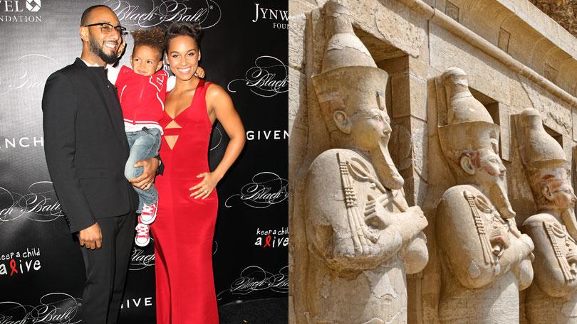 Alicia Keys and Swizz Beatz, Egypt