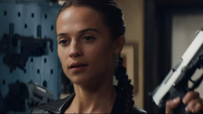 Alicia Vikander Stars As Lara Croft In First Tomb Raider Trailer Bt