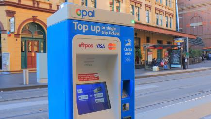 Man has Opal card implanted underneath the skin in his hand