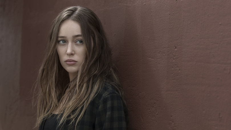 Alycia Debnam Carey as Alicia Clark in Fear the Walking Dead