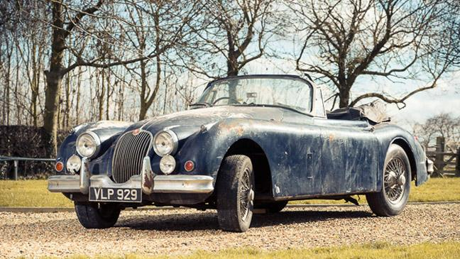 Amazing Barn Find Auction Hits GBP1m
