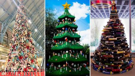 15 weird and wonderful Christmas trees from around the world - BT