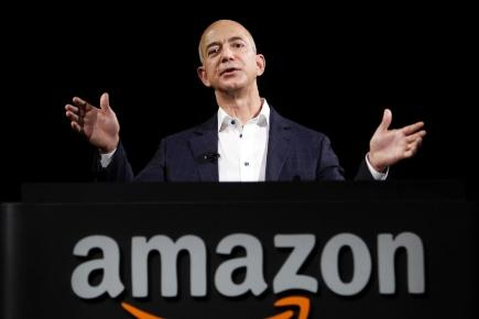 Amazon founder and CEO Jeff Bezos plans to buy The Washington Post (AP Photo)