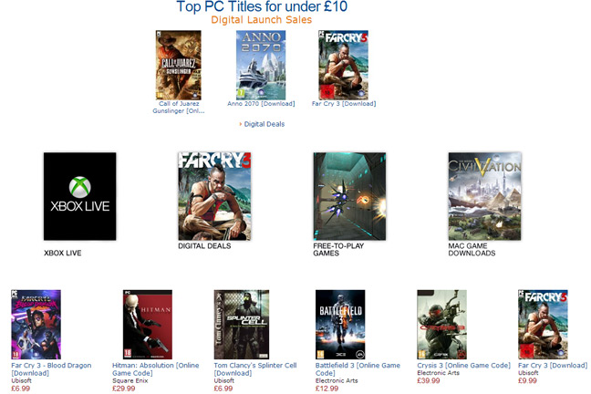Pc game digital download deals