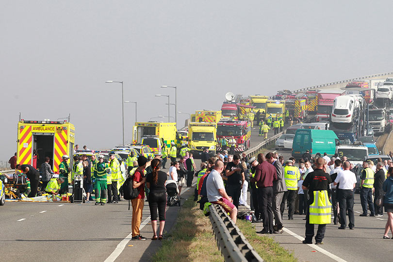 Image result for ambulance crowd