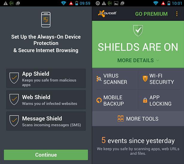 Android anti-malware
