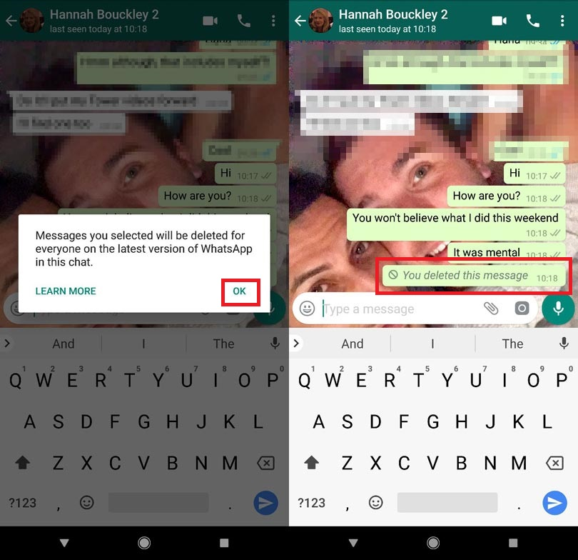 Sent the wrong image to the group chat? Here's how to delete your