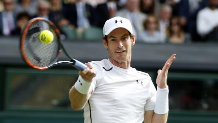 Murray powers through second Wimbledon test