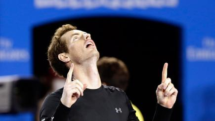 Andy Murray is eyeing an upset