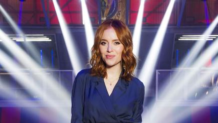 Angela Scanlon Robot Wars Hero