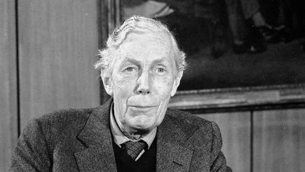 Anthony Blunt, art adviser to the Queen and a Soviet spy.