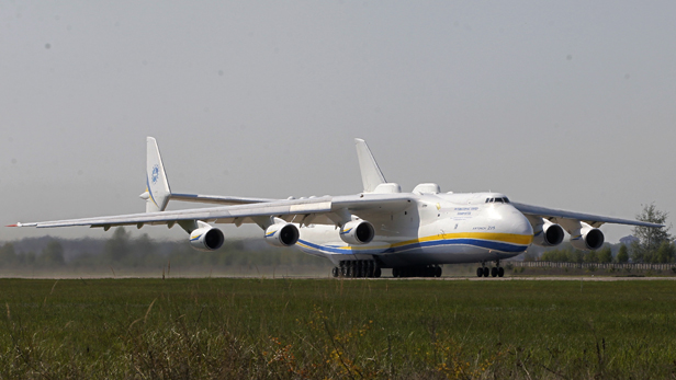 Dream flight: World's largest aircraft transports 117-tonne mining generator around the globe