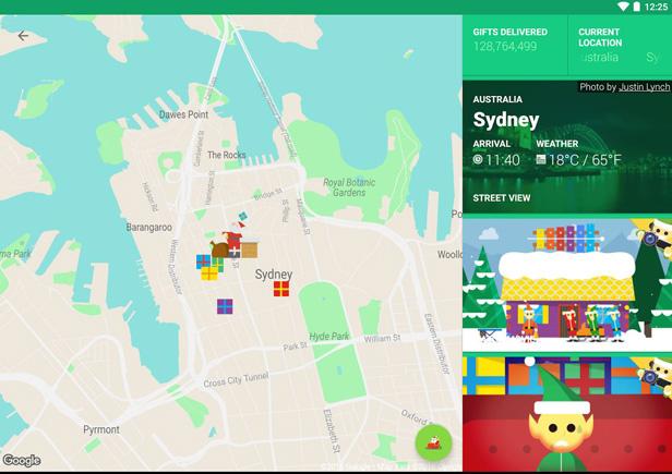 Use Google's Santa Tracker to keep up to date with where the ... on santa satan, santa posters, santa visit, baseball map tracker, santa schedule, santa home,