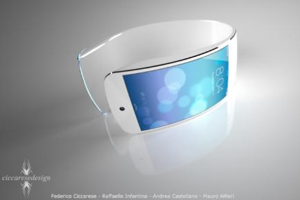 Apple iWatch render 1 Ciccarese Design