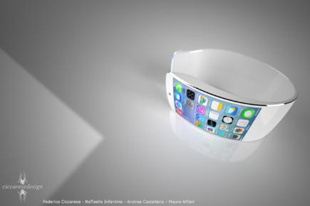 Apple iWatch render 2 Ciccarese Design