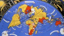 BT Archives Map of connected world